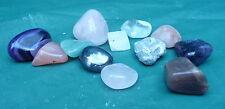 job lot 12 pretty crystals quartz display collect educational use