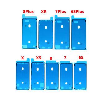 Lot Screen Frame Seal tape WaterProof Adhesive Pre-Cut  iPhone X XS MAX XR 8 7