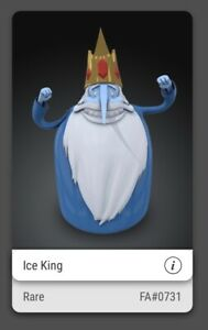 VeVe Ice King NFT Adventure Time Series (First Appearance - RARE)