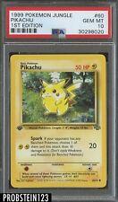 1999 Pokemon Jungle 1st Edition #60 Pikachu PSA 10 GEM MINT