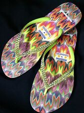 MISSONI Havaianas Slim Rachel Collector Crystal Flip Flops Swarovski Bling Shoes