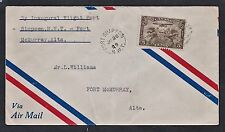 1929 JA 26 experimental flight Ft. Simpson, N.W.T. to Ft. McMurray.  Yr. date co