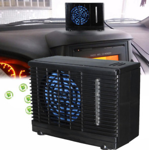 12V Portable Car Home Air Cooler Conditioner Fan Evaporative Water Cooling Fan