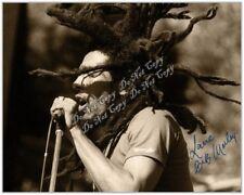Bob Marley Signed Photo Singer Legend Super Star Icon Reggae Rastafari 4x6 Rp