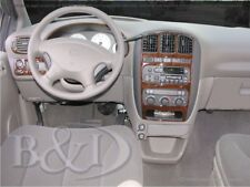 Dash Trim Kit for DODGE CARAVAN 01 02 03 04 05 06 07 carbon fiber wood aluminum