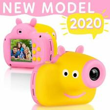 Digital Camera for Kids  Adorable Piggy Design Durable Photography