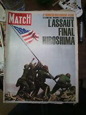 Paris Match n°856 4 sept 1965 n° spécial hiroshima 1945 staline hitler roosvelt