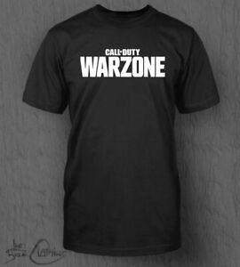 Call of Duty Warzone T-Shirt MEN'S CoD Vanguard Black Ops Cold War PS4 PS5 Xbox
