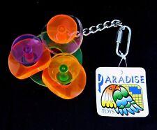 Paradise Toys Sm Medium Bird Acrylic Activity Toy Rattle Circles 319 Caitec