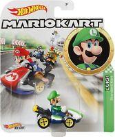 Hot Wheels 2020 Mariokart Luigi Standard Kart 1/64 Diecast Characters Car