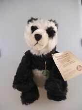 Hermann Teddy running panda 34cm limitado (1335c)