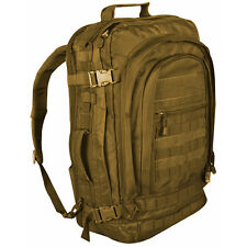 NEW - Military Tactical Jumbo Modular MOLLE Field Backpack - DESERT COYOTE TAN