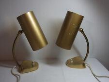 Pair Mid Century 50´s 60´s German Desk Nightstand Bedside Lamp  #<