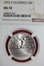 Deep Cameo! 1992 S PROOF Olympic Gymnast Commemorative Half Dollar
