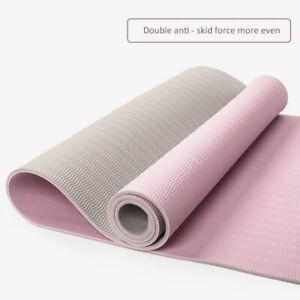 Tpe Yoga Mat Fitness Beginners Non-slip Yoga Mat High Density Dance Mat Sport
