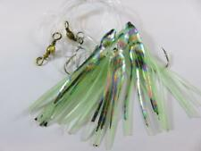 1 LUMINOUS ABALONE OCTOPUS GLITTER MUPPETS RIG Cod Fishing Lures Sea Boat Tackle