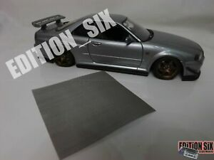1/64 1/24 1/18 METAL MESH GRILLE RADIATOR VENTS Cover Model Parts Tuning car