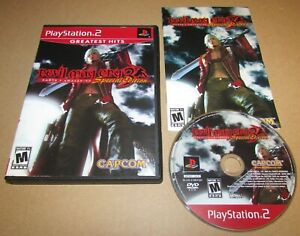 Devil May Cry 3: Dante's Awakening for Playstation 2 PS2 Complete Fast Shipping