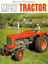 Massey Ferguson Mf97 Operation & Maintenance Manual for Mf 97 Tractor Service