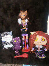Monster High Clawdeen Wolf Doll & Outfit + More 1st Wave First Edition