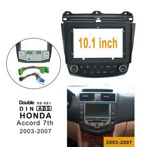 "10.1"" Car radio Fascia Frame Install Panel Trim Kit for Honda  Accord 2003-2007"