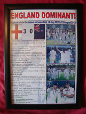 More details for england 2013 ashes winners - framed print