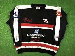 VTG 90's NASCAR Dale Earnhardt Sweatshirt Intimidator Crewneck Sz XL