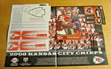Kansas City Chiefs Lot of Collectible Items NFL Football Card, Decal, Poster+++
