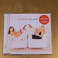 PAOLA & CHIARA - VIVA EL AMOR! - CD SINGOLO - 2000 SONY - OTTIMO CD [AO-110]