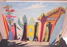 SURF SHACK , USA METAL WALL SIGN 40x30cm, SURF BOARDS/BEACH HUT