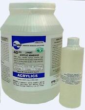 Ips Weld-on #40 2-part Acrylic Cement (glue) Adhesive Kit - 1 Gallon