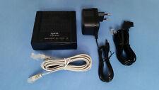 ADSL-Modem Zyxel P-600 series P-660RU-T1 v2 mit Zubehör – TOP-ZUSTAND!