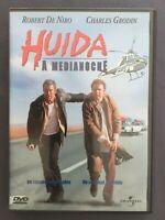 DVD HUIDA A MEDIANOCHE Robert De Niro Charles Grodin Yaphet Kotto MARTIN BREST