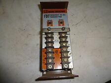 MOORE INDUSTRIES FDT/C/10-50MA/117AC FREQUENCY TO DC TRANSMITTER USED