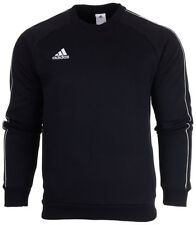 adidas Core 18 Mens Full Tracksuit Sweatshirt Top Bottoms Pants Training L Black