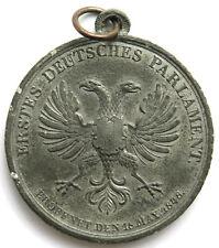 Medaille 1848, Erstes Deutsches Parlament, Sign. Neuss