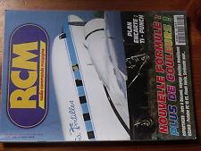 $$w Revue RCM N°168 Plan encarte Ti-Punch  DeLand  Futaba FC 18 V3  Flash Vario