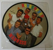 "MADNESS - HOUSE OF FUN - DON'T LOOK BACK - Picture Disc 45gg 7"" NUOVO"