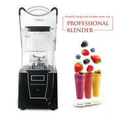 1.5L Commercial Ice Crusher Smoothies maker Machine juicer Blender Soundproof
