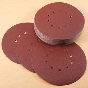 50 Pcs 225mm Schleifscheiben Schleifpapier für Trockenbau Klettscheiben Haftsche