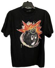 Men's The Hundreds Bomb T-Shirt - Black Short Sleeved Tee - Medium Size