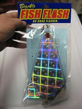 "Big Al's Fish Flash 10"" Trolling Mooching Flasher / Plaid Both Sides"