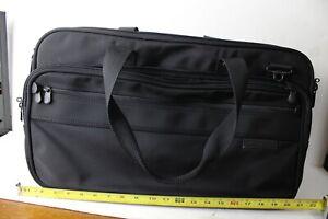 "Briggs & Riley Travelware black Convertible Backpack Duffle Bag 21""x13""x8"""