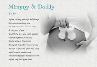 MUMMY & DADDY TO BE - Laminated Gift