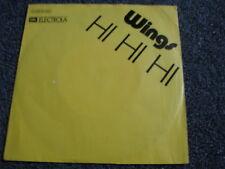 Wings-Hi Hi Hi 7 PS-Made in Germany-Rock- Ex The Beatles
