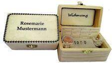 WallaBundu Geschenkidee zum Geburtstag. Personalisierte Box-Kalender-Münze etc.