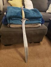"39"" Full Metal Lord of the Rings Lotr Hobbit Thorin Cosplay Sting Sword Gift New"