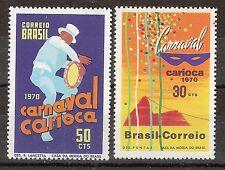 Brasilien Karneval, Carnaval, Mi 1247/1248,postfrisch, KW 13,00€, M03