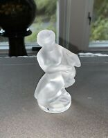 Lalique Diana the Huntress with Fawn Mint condition.  Original stickers
