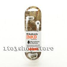 Skullcandy Ink'd 2 In-Ear Earbuds Headphones w/Mic Remote Headset Realtree White